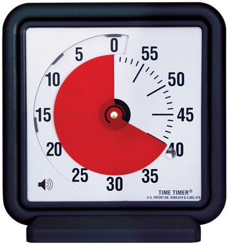 """Audible Time Timer 12""""  Visual Countdown Classroom Timer"""