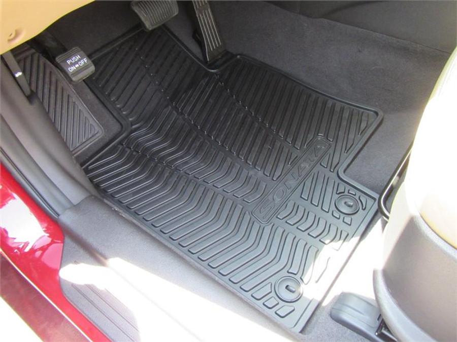 Hyundai Sonata Hybrid Rubber Floor Mats  Hyundai Shop