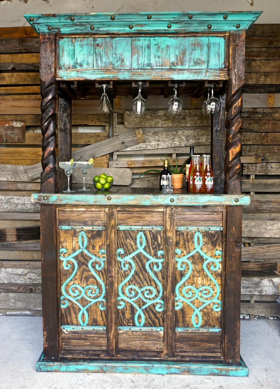 San Cristobal Cantina Bar Sofia' Rustic Furniture