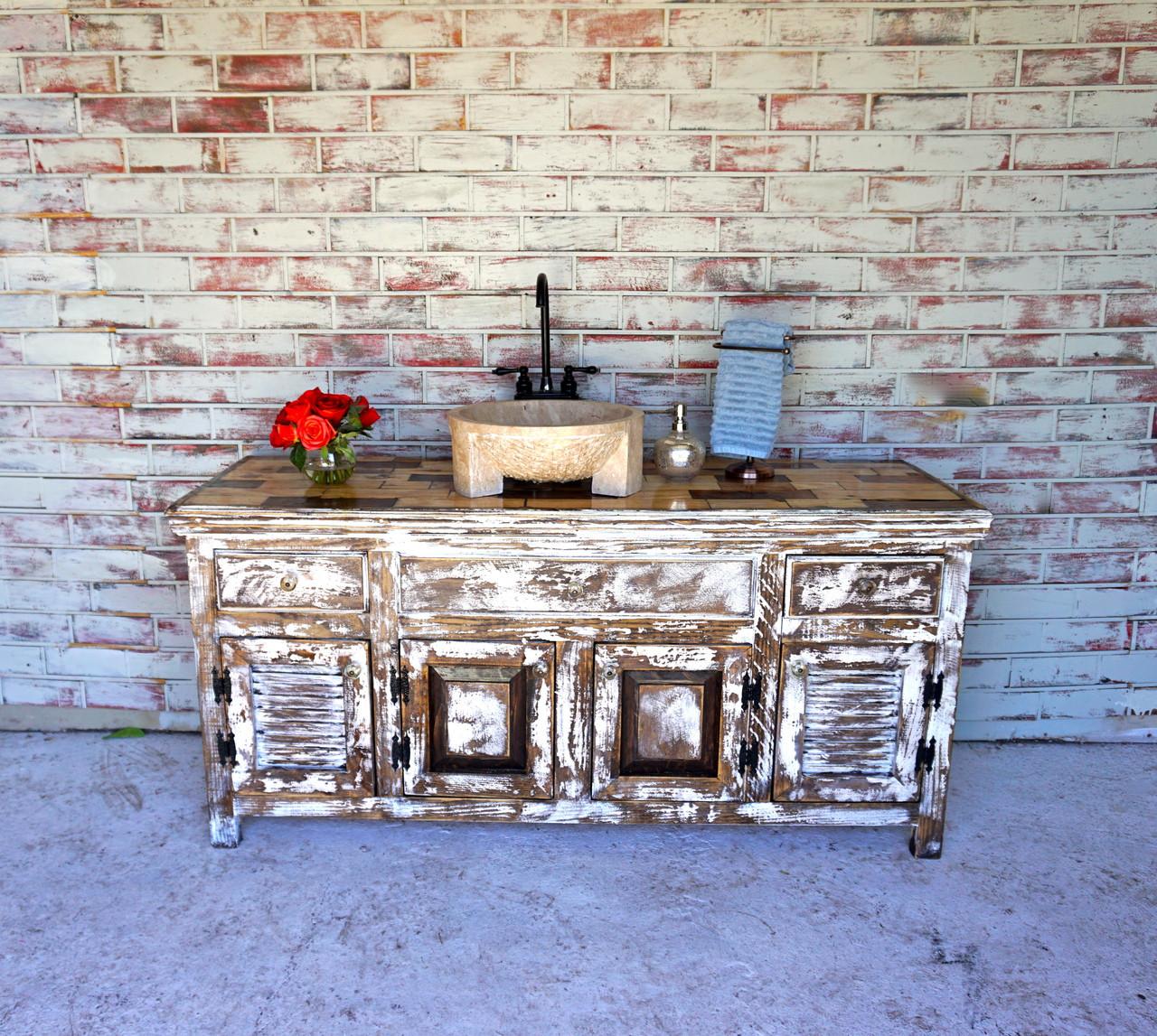 Morelia Bathroom Vanity Sofia S Rustic Furniture