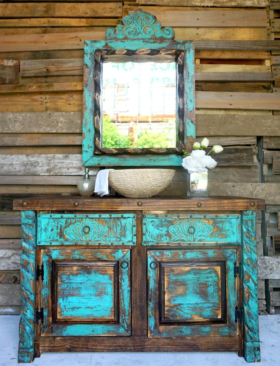Agave Bathroom Vanity Sofia' Rustic Furniture