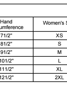 Harley davidson glove size chart for mens and womens also charts rh wisconsinharley