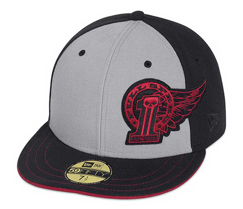 Harley-davidson Men' Winged #1 59fifty Baseball Hat Cap