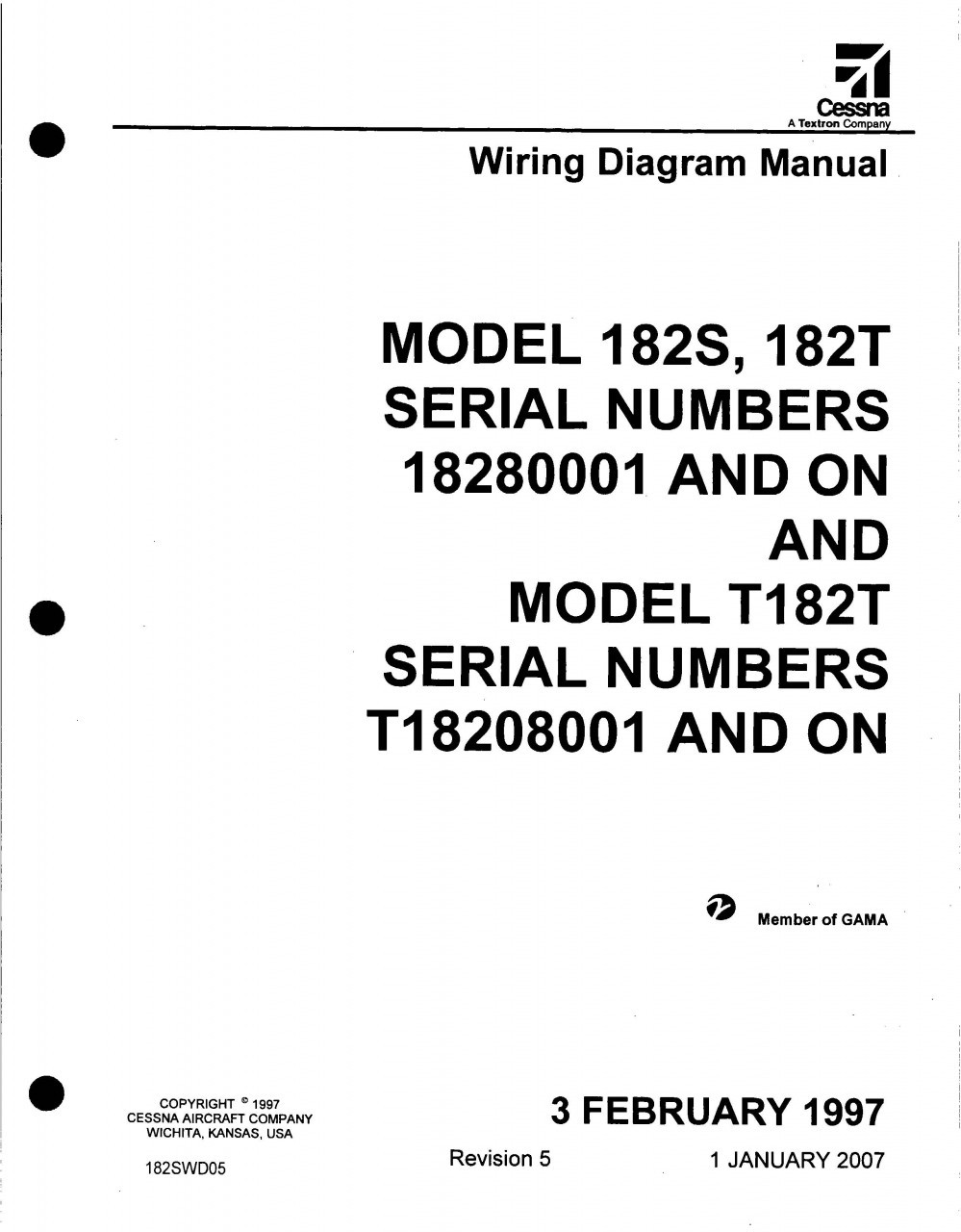 hight resolution of cessna 182 wiring diagram electrical manual 182s 182t 182swd download alternator electrical diagram cessna 150 electrical