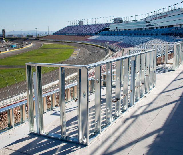Las Vegas Motor Speedway Expanding Loge Box Seating For
