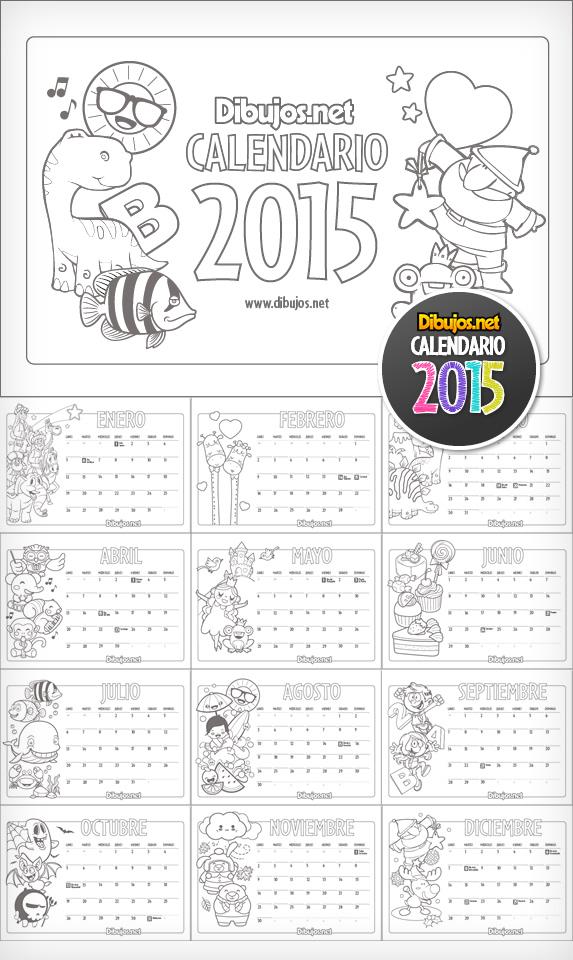 ¡Ya puedes descargar el calendario infantil 2015 para