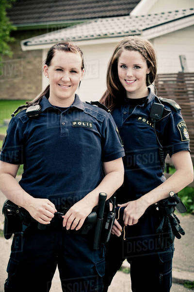 Police Officer Girl Wallpaper Portrait Of Two Female Police Officers Standing Together
