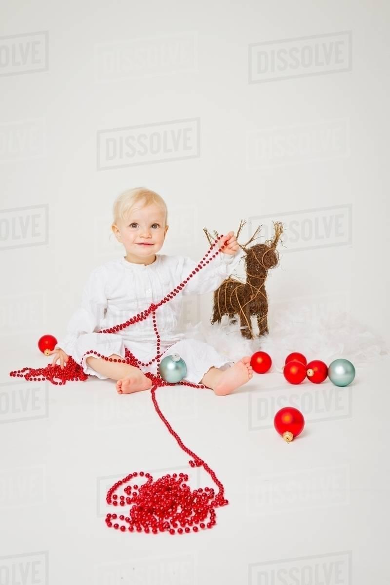 Baby Girl Christmas Ornaments