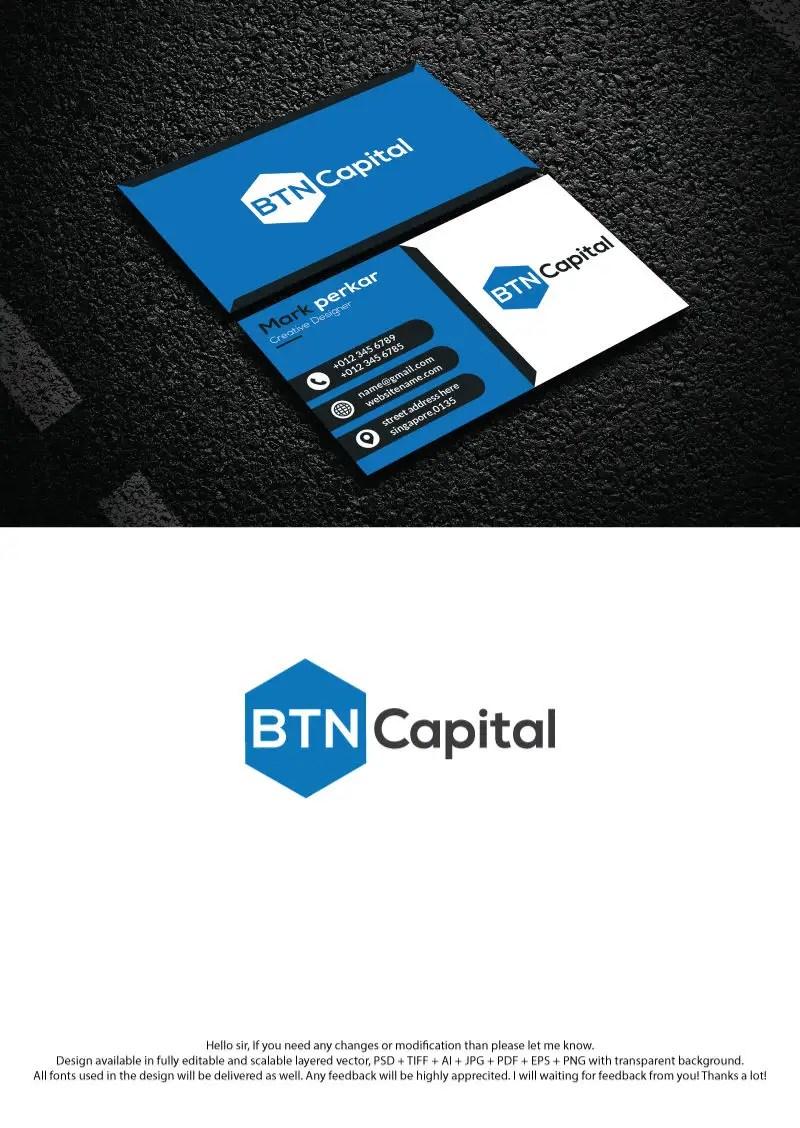 Logo Btn Vector : vector, Entry, Ranahamidcrt, Capital, Identity, Template, Freelancer