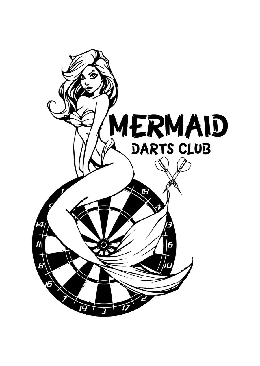Entry #29 by rijulg for Design a Logo for MERMAID DART