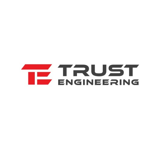 small resolution of contest entry 444 for trust engineering logo