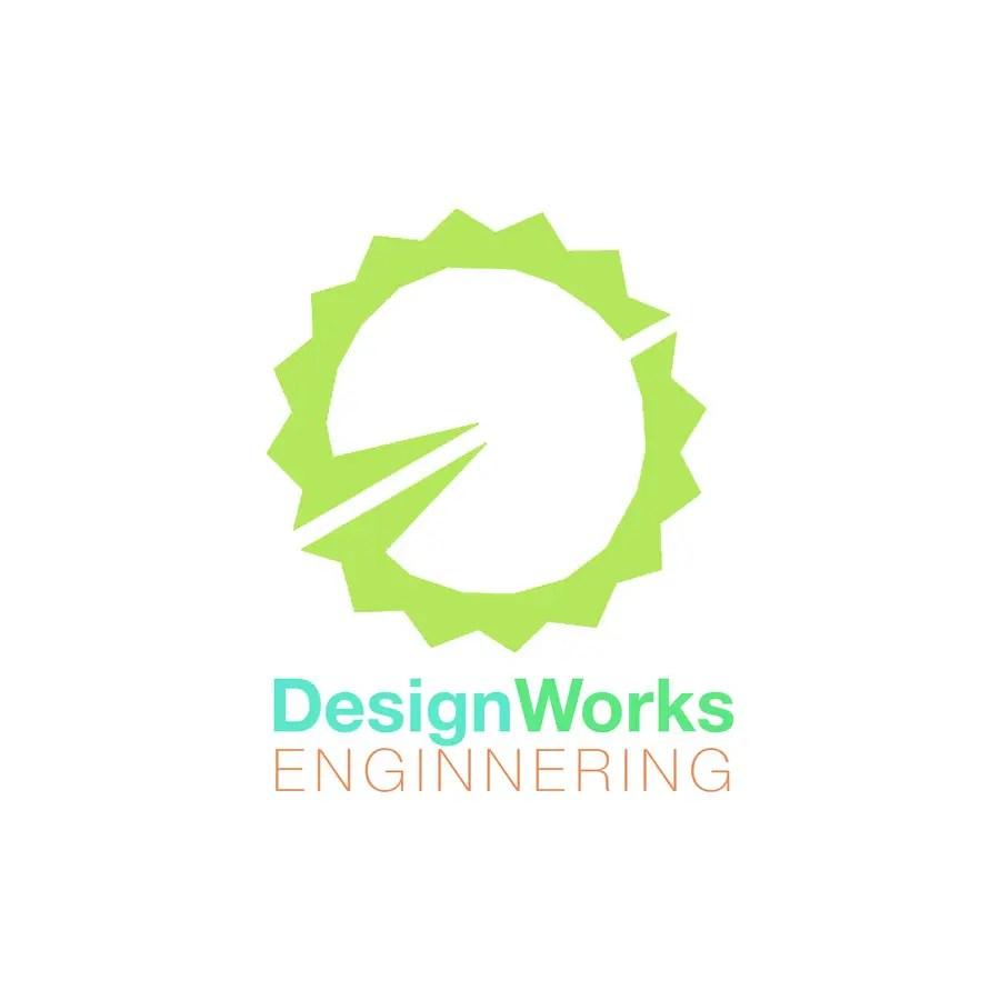 medium resolution of contest entry 8 for designworks engineering logo redesign