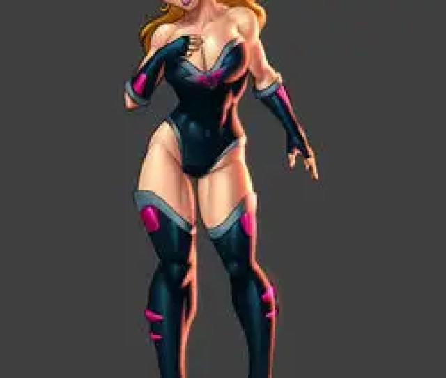 For Super Heroine Characer Design Leading To Additional Work Creating A Concept Cartoon Strip