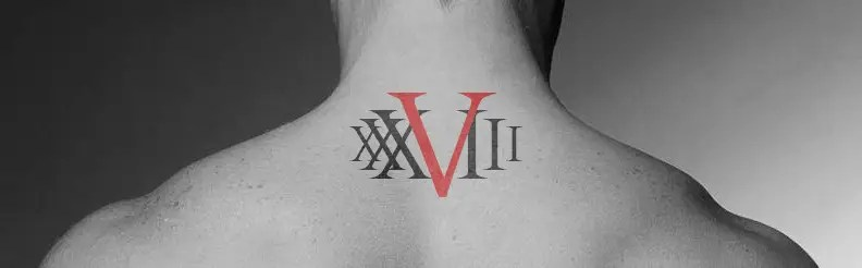 Roman Numeral Chest Tattoo Ideas