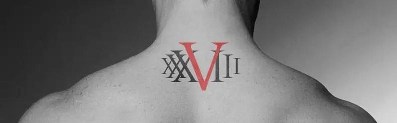 Roman Numeral Chest Tattoo Ideas