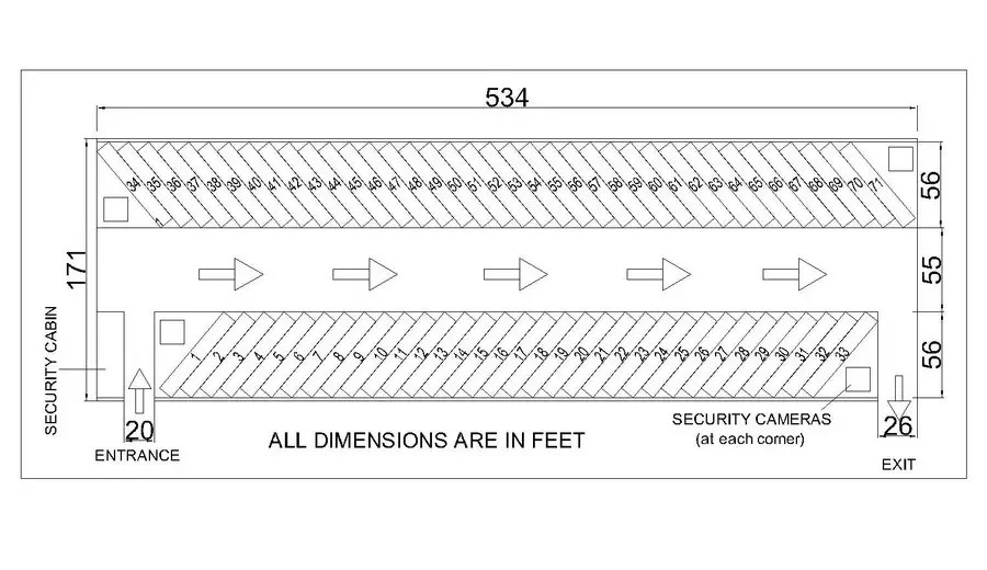 semi truck turning radius requirements