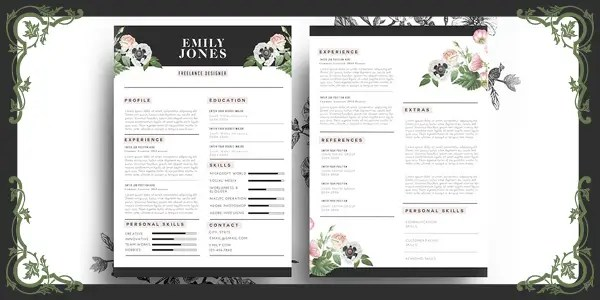 20 Resume Design Tips and Examples | Freelancer Blog