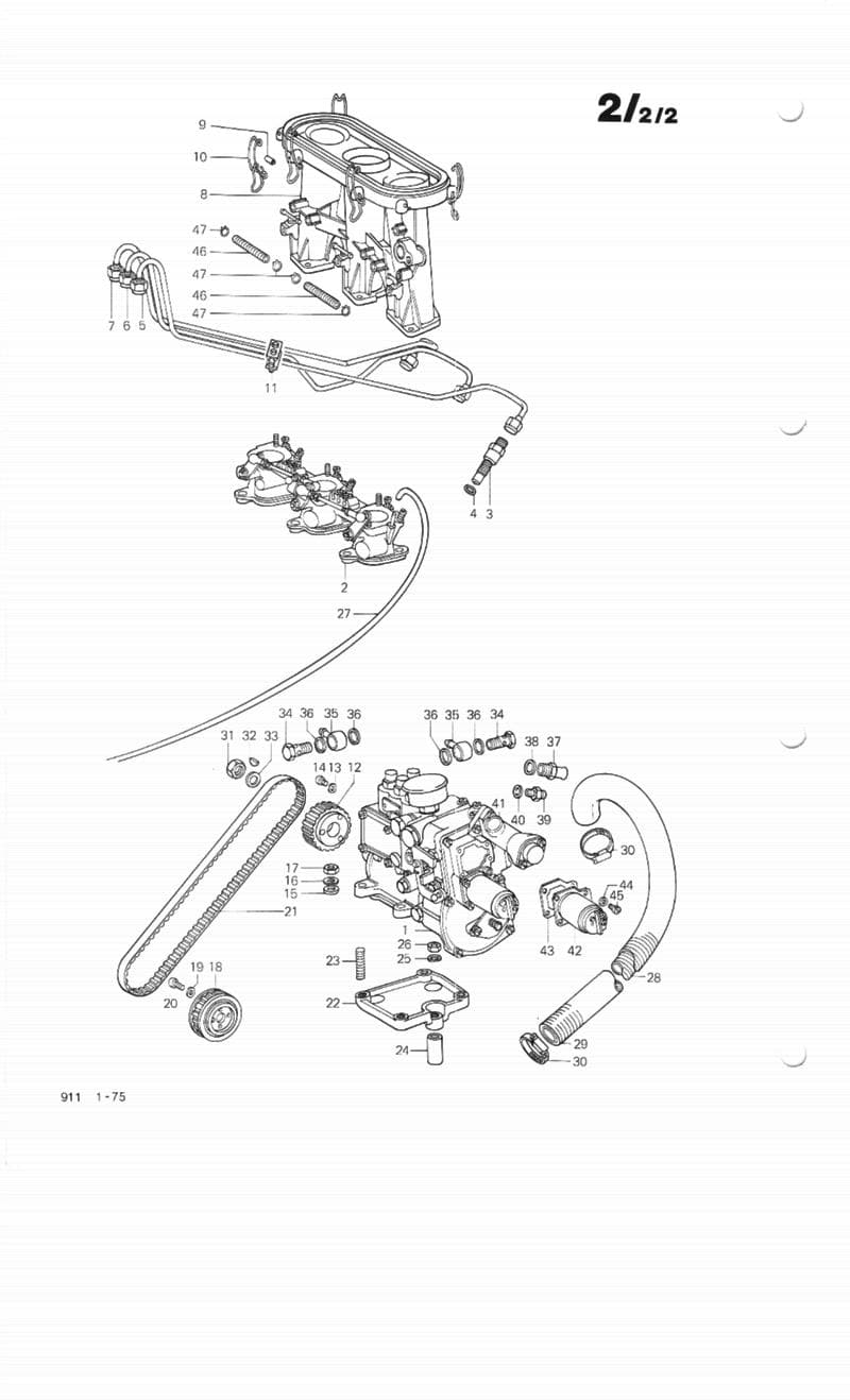 porsche 911 turbo wiring diagram rj45 b bosch mechanical fuel injection overview | (1965-89) - 930 (1975-89 ...