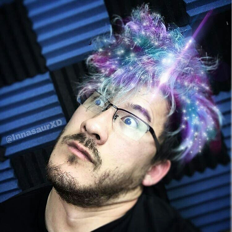 markiplier galaxy hair galaxyhair