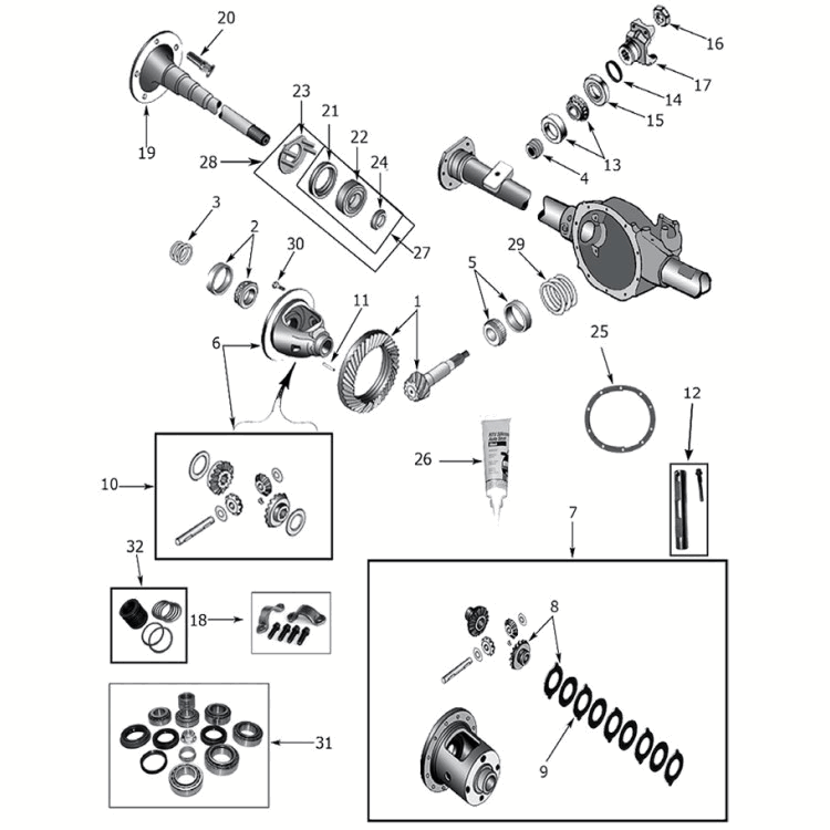 1996 Jeep Zj Grand Cherokee Parts Diagram