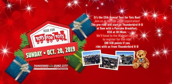The 15th Annual Toys For Tots Run Has Vib Points At