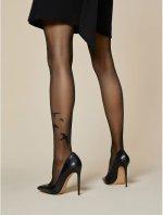 Ciorapi cu model Fiore Rondini 20 den