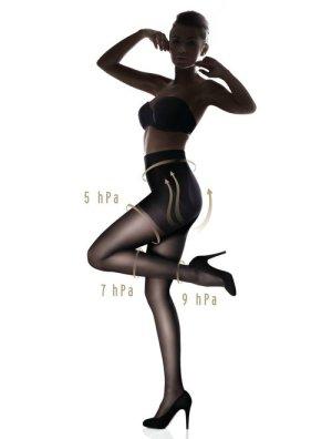 reducere Ciorapi cu push-up si compresie usoara (3.75-6.75mmHg) Marilyn Plus Up 40 den, cel mai mic pret