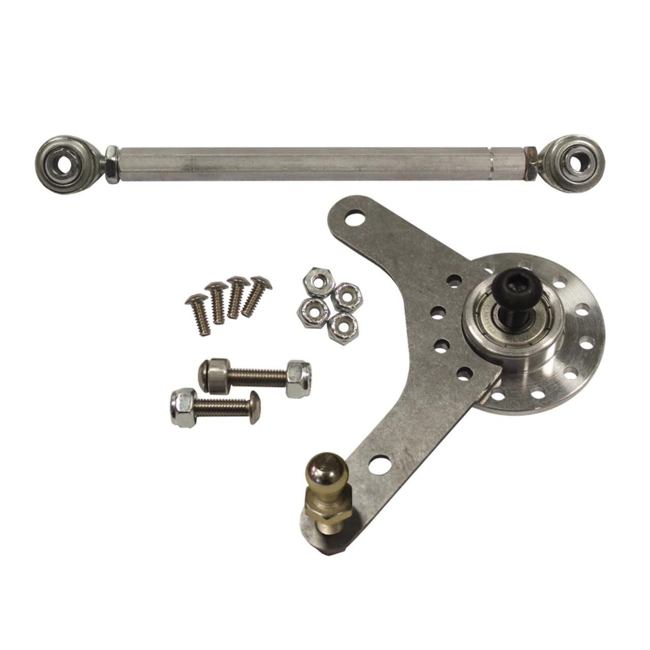 medium resolution of single bell crank throttle linkage kit
