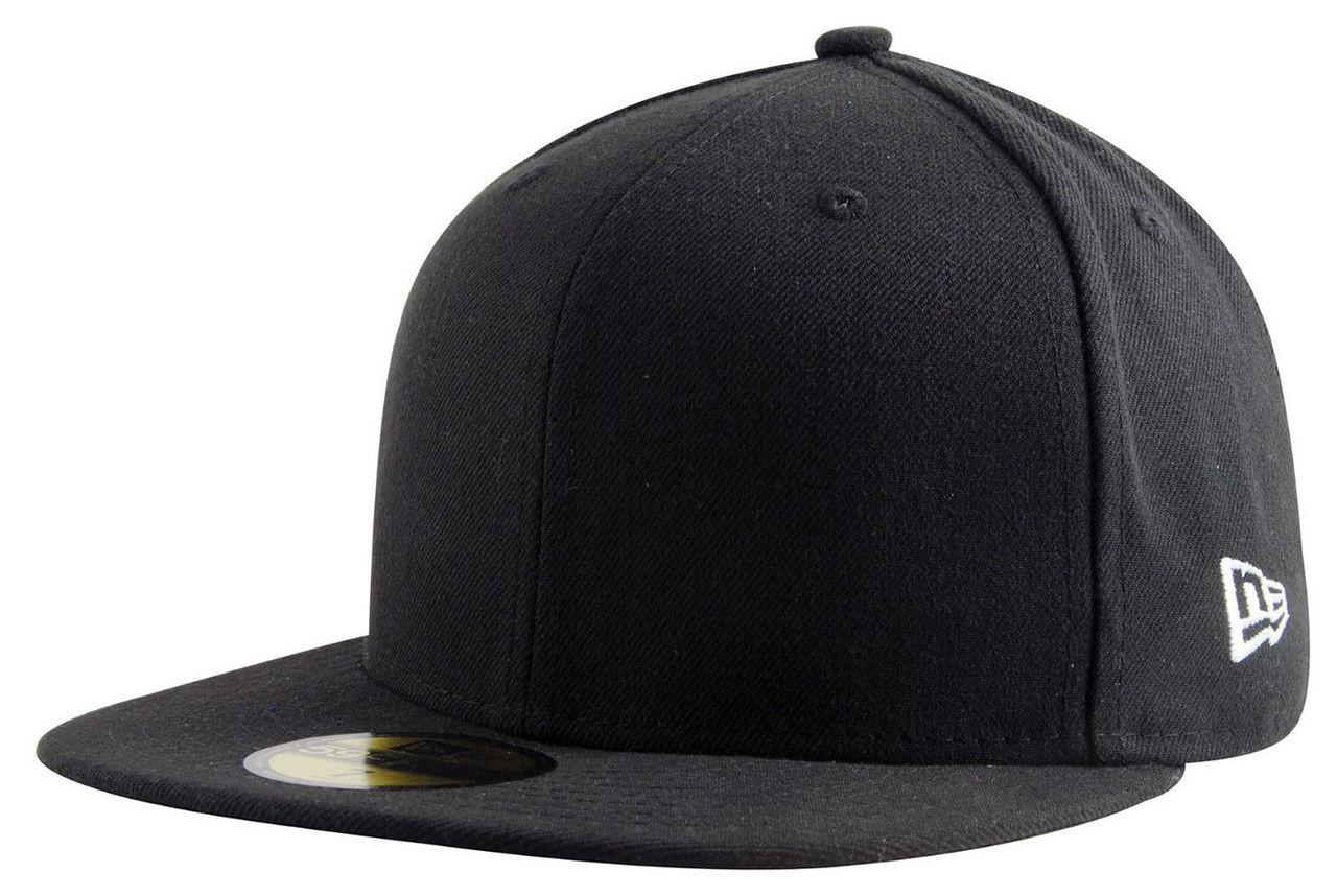 Plain Blank Black Era 9fifty Snapback Hat