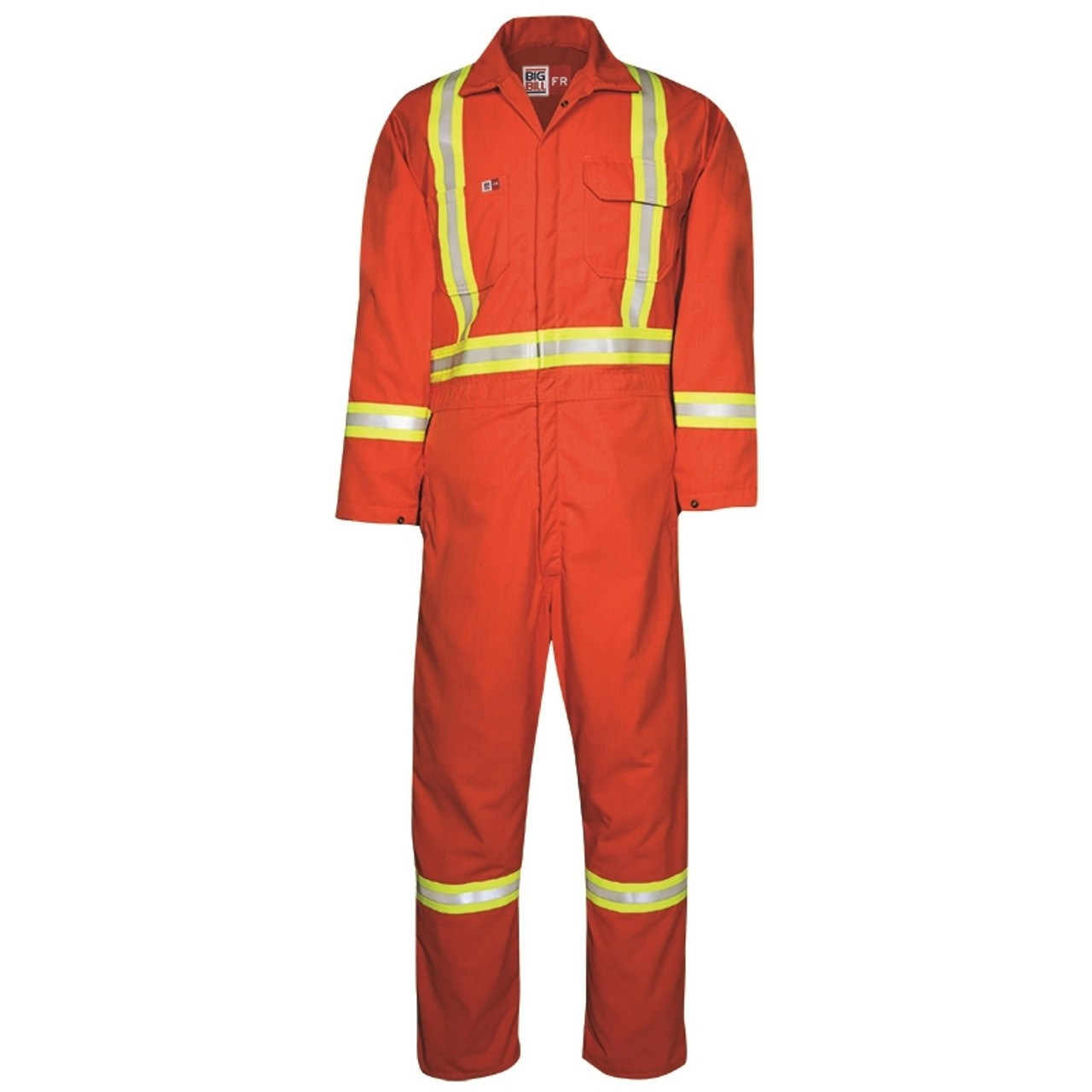 Fr Coveralls Reflective Ultrasoft 7 Oz. Twill Unlined 1325us7