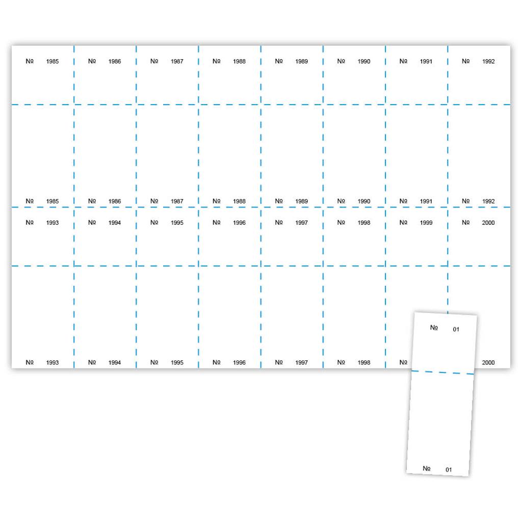 Sheet Dimensions Sample And Sheet Digital Raffle