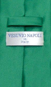 Emerald Green Mens NeckTie | Vesuvio Napoli Solid Color ...