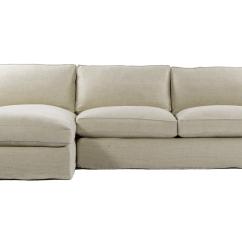 Belgian Linen Sofa Horchow Casual Beige Upholstered Deep Sectional
