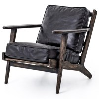 Mid-Century Modern Brooks Leather Lounge Chair | Zin Home