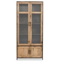 Metal And Glass Cabinet - Frasesdeconquista.com