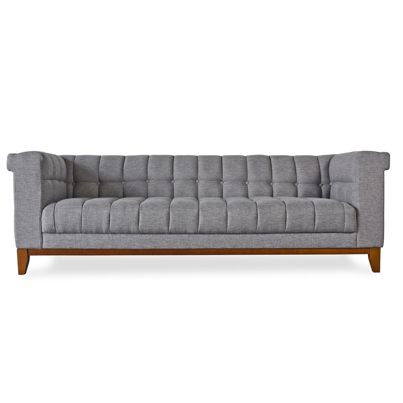 gray linen tufted sofa slipcovers queen anne nest modern grey zin home