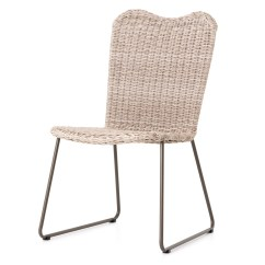 Woven Outdoor Chair Steamer Covers Australia Canbiro Vintage White Wicker Dining
