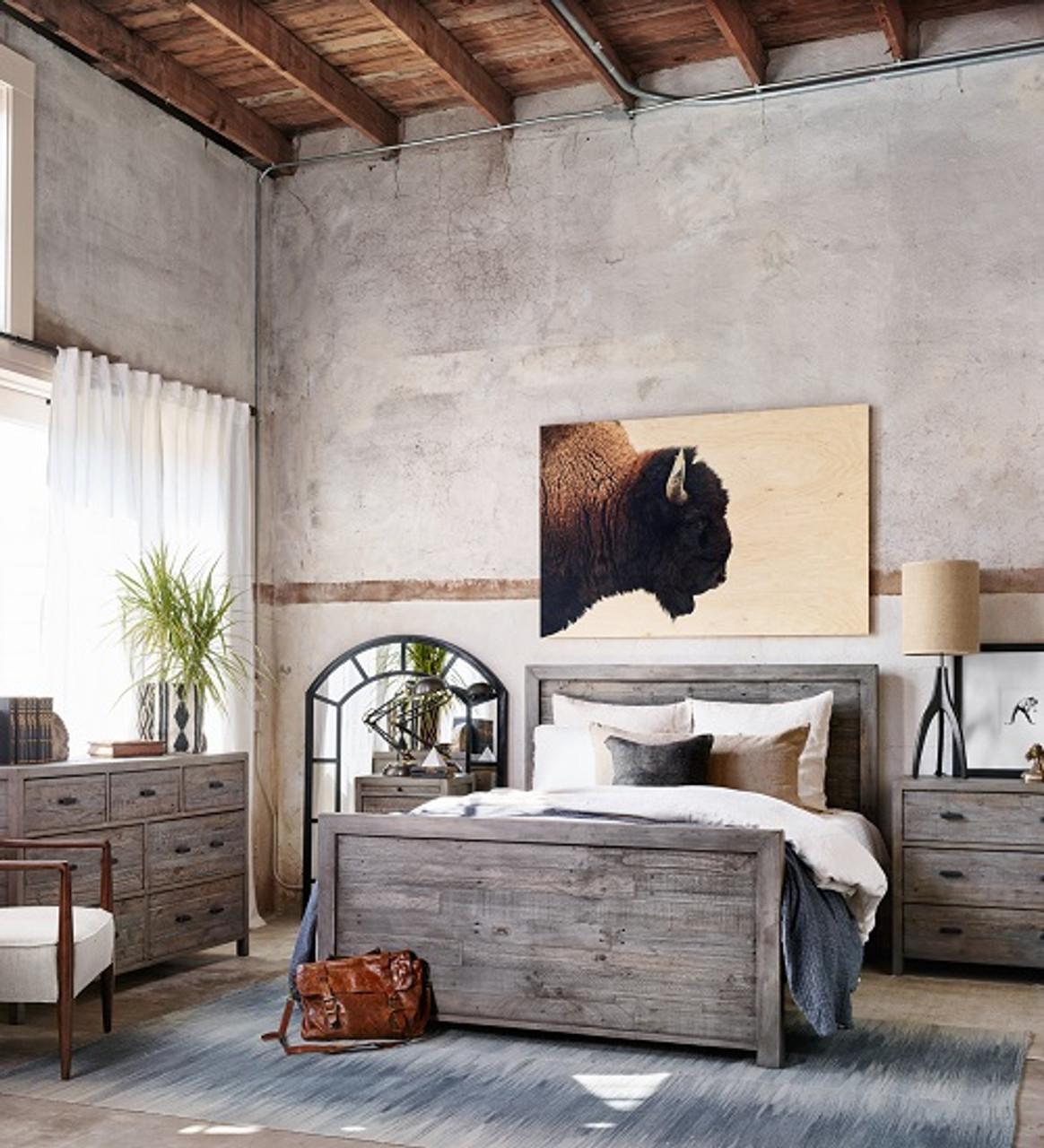 choose modern rustic bedroom