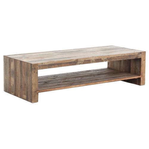 "Angora Reclaimed Wood Coffee Table 48"""