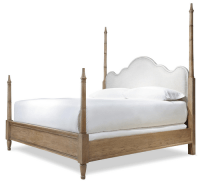 French Modern King Four Poster Bed Frame | Zin Home