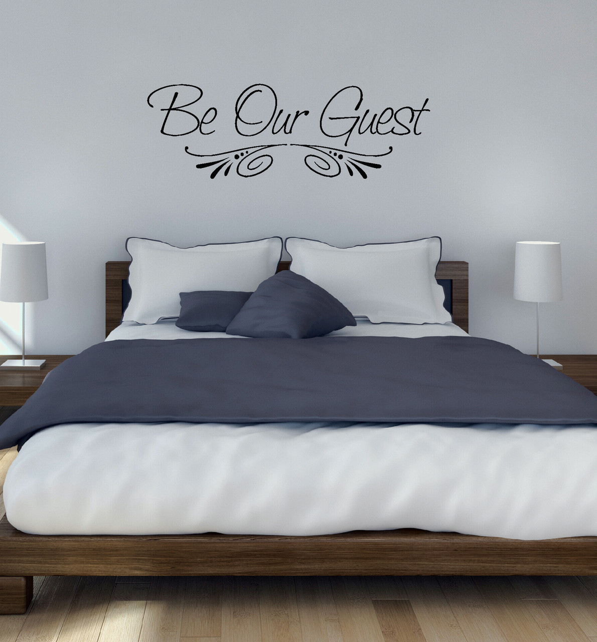 Be Our Guest Wall Decal Sticker For Home Decor