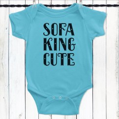 Sofa King Awesome T Shirt Dane One Arm With Chaise Cute Baby