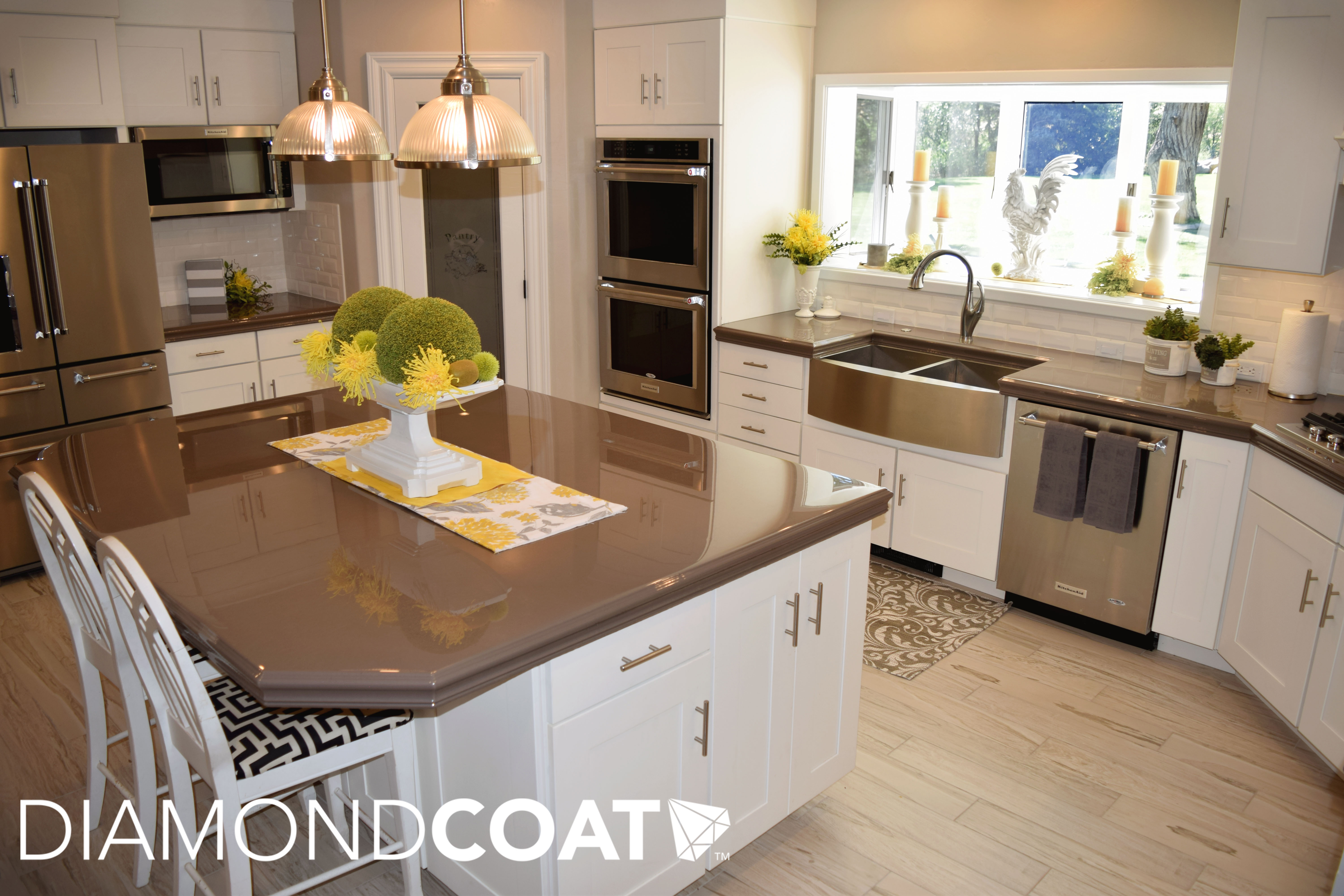 The Kitchen Trends Of 2018 2019 Will Require Plenty Of Epoxy Finishes Diamond Coat