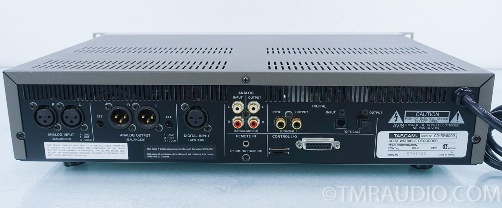 Tascam Cd-rw5000 Cd Recorder In Factory Box - Music Room