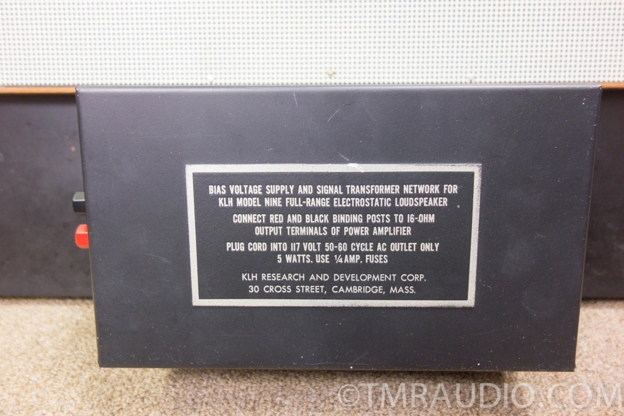 medium resolution of klh model 9 vintage electrostatic speakers in factory box one owner stunning klh