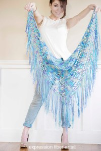 Free Crochet Boho Triangle Shawl Pattern - Expression ...