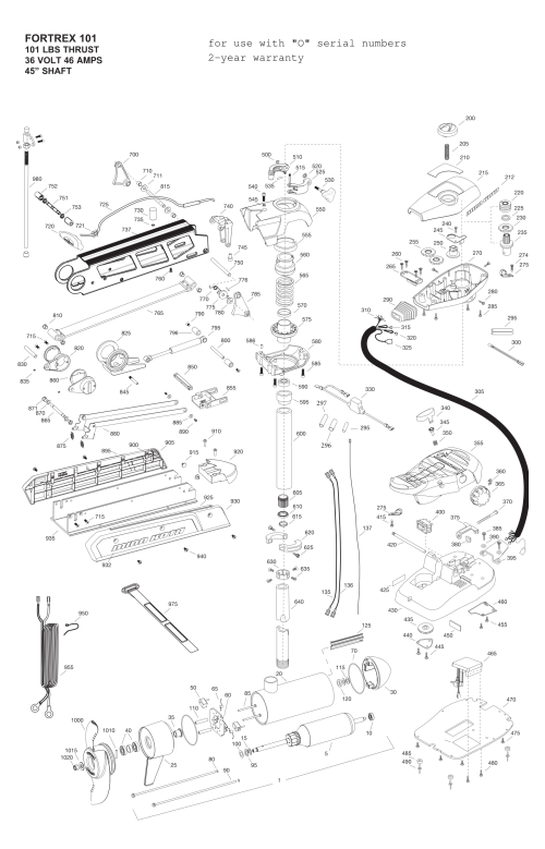 small resolution of minn kota fortrex 101 45 inch parts parts 2014 from fish307 com kota maxxum trolling motor parts also minn kota parts list diagram