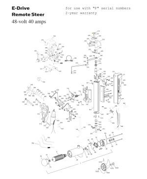 Minn Kota EDrive Parts  2015 from FISH307