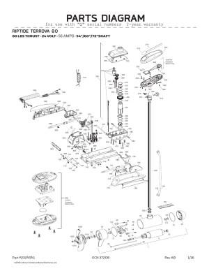 Minn Kota Riptide Terrova 80 Parts2016 from FISH307