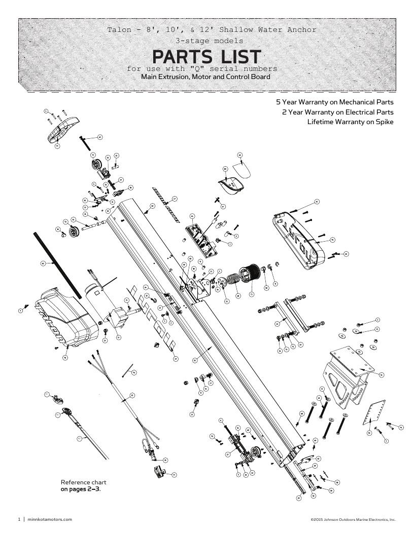 medium resolution of minn kota talon parts 2016